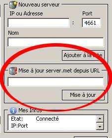 serveurs emule 0.50a